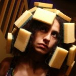 maryam hashemi with sponges